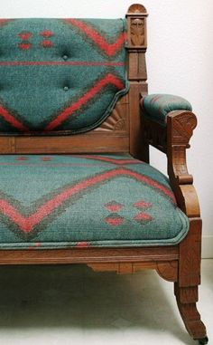 navaho blanket Chair | Visit cristinegiusepps.tumblr.com