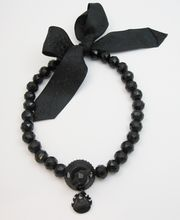 Antique Victorian 19th Century Mourning Whitby Jet Necklace