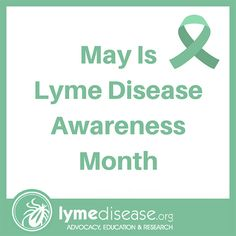 Lyme Disease Awareness Month | Lymedisease.org Awareness Ribbons, Cancer Awareness, Stem Cell Research, Lyme Disease, Stem Cells, Trauma, Health Care, The Cure, Education