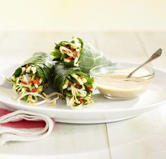 Vitamix+|+Thai+Spring+Rolls+with+Dipping+Sauce