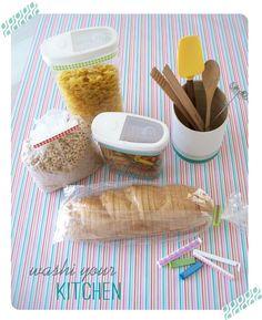 My Sisters Suitcase: {Washi Tape Week} Day 1: Kitchen Organization