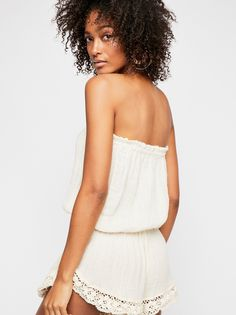 9cb8d6f26d5 Molten Romper from Free People! Strapless Romper