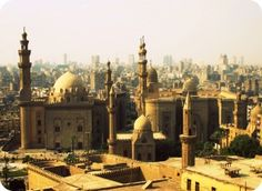 A panoramic view of Cairo from the Citadel. I loved hearing the call to prayer from above the city.