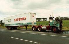Old Safeway Trucks | Australian Safeway trucks