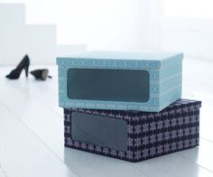 Shoeboxes - perfect for a lot of other things!