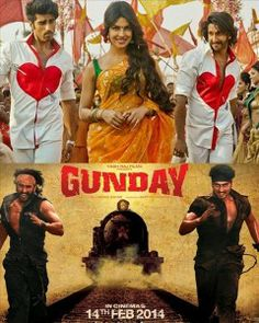 Gunday 2014 Watch Online Free Watch Gunday Full Online,Watch Gunday Hindi  Film Online,