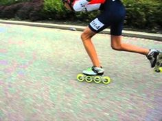 Inline Speed Skating.  Training, so you can be cool.