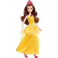 Boneca Princesas Disney Bela BBM23 - Mattel
