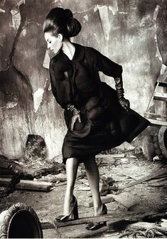 Christy Turlington in Christy for Vogue Italia, July 2010 Shot by Steven Meisel styled by Karl Templer Steven Meisel, Magazine Vogue, Templer, Foto Fashion, Tim Walker, Peter Lindbergh, Linda Evangelista, Christy Turlington, Kate Moss