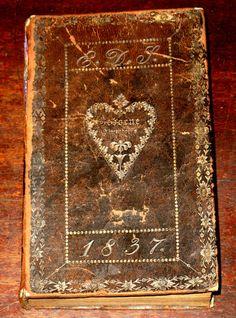 1836 fraktur decorated book ~♥~