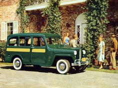 Willys Jeep Station Wagon 1948.