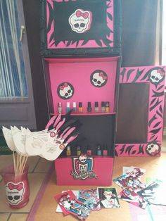 DIY Monster high party