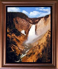 Framed Art measures 18x22 inches, Art Print measures 16x20 inches. Composite Wood Frame with Real Glass Front. Custom Finished and Professionally framed in California, USA. Frame has Hardware attached & arrives Ready to Hang out of the box. BRAND NEW in MINT condition.