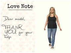 """""""Dear model,  You are beautiful and perfect at any size.  Angie """" #motivation #goals #love #note"""
