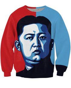 President Kim Crewneck Sweatshirts | Mopixiestore.com