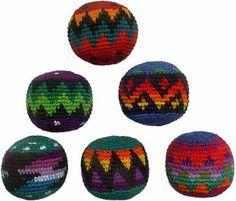 Set of 6 Hacky Sacks - Multicolor Design by Turtle Island Imports, http://www.amazon.com/dp/B000LL3WE4/ref=cm_sw_r_pi_dp_4gNcsb0MAZMKK