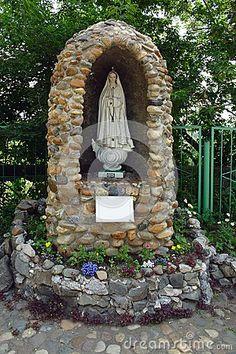 religious statue grotto - Google Search