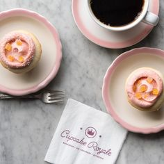 Happy Mother's Day! Share MOMosa cupcakes with mom today -- they're champagne cake frosted with blood orange buttercream and topped with candy orange peel. Come by today for a MOMosa buy one get one free deal! #mothersday #mimosas