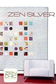 Zen Silver by Zen Chic | Charm Pack | Quilt | Pattern