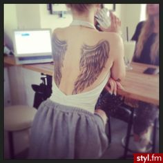 Angel wings. What I've always wanted!