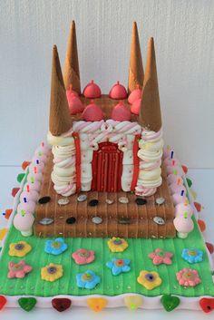 Tarta de chuches Castillo - Candy cake Castle