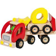 Biltrailer med Traktor - Goki - Paddington's Leksaker