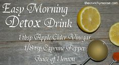 Apple Cider Vinegar Cayenne Pepper