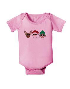 TooLoud The X-mas Squad Baby Romper Bodysuit