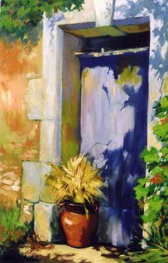 Doorway In The Village