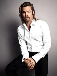 Brad Pitt pour le 5 de Chanel