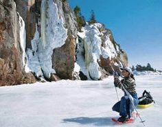 2014 Scenes of Ontario Promotional Calendars - December 2013 - Agawa Rock, Lake Superior Provincial Park Promotional Calendars, Canada Wall, December 2013, Lake Superior, Business Names, Ontario, Outdoors, Rock, Image