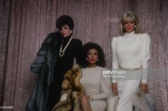 DYNASTY - 'Gallery' - Airdate on January 15, 1986. (Photo by ABC Photo Archives/ABC via Getty Images) JOAN