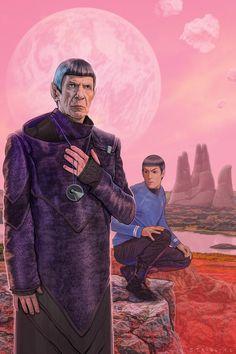 Spocks by strib on deviantART