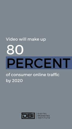 Video will make up of consumer online traffic by Business Goals, Business Branding, Business Tips, Email Marketing, Content Marketing, Social Media Marketing, Search Optimization, Google Analytics, Branding Strategies