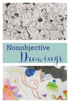 Non-objective Drawings by 3rd and 4th Graders