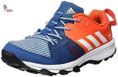 Adidas Kanadia 8 K, Chaussures de Course Mixte Enfant, Multicolore (Azubas/Ftwbla/Energi), 38 EU - Chaussures adidas (*Partner-Link)