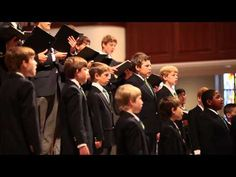 ▶ The Georgia Boy Choir - E'en So Lord Jesus, Quickly Come - YouTube