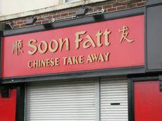 Soon-Fatt Chinese takeaway.