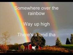 """>click to view ... So, here's a sing-along song... """"somewhere over the rainbow"""" by Judy Garland. Hope you'll enjoy it!  Also watch my new Dirty Dancing - Time of my life sing-along :D    Please write a comment xD"""