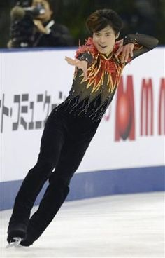 Tatsuki Machida(JAPAN「L'Oiseau de feu」: Cup of China 2012