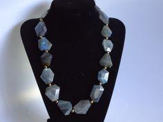 Baroque Labradorite  Necklace, $135.0