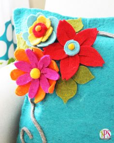 How to Make Perfect Felt Roses | Positively Splendid {Crafts, Sewing, Recipes and Home Decor}
