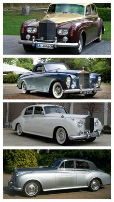 The Rolls Royce Silver Cloud, conveys stature and an absolute bullish presence! Click to see more.