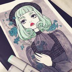 Oh so talented. Emily Warren art.