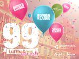 """Aktion """"99 Luftballons (oder mehr) beim 10. Greifswalder Citylauf"""" als Zeichen der Vorfreude auf #NENA bei den Boddenklängen am 25. Juni in #Greifswald"""