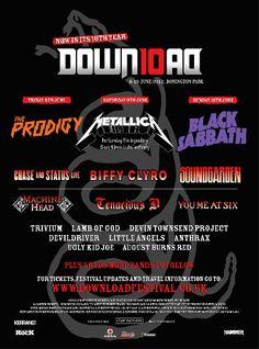Download Festival 2012 poster