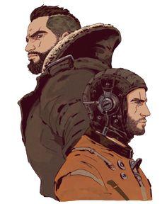 Fallout 4 - Maxson and Danse  https://www.facebook.com/Gamers-Interest-188181998317382/