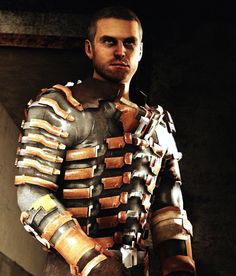 Isaac Clarke - Dead Space series. This guy is both badass and well ... unfortunate in many ways