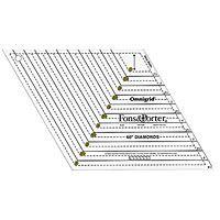 Fons & Porter Diamond Ruler