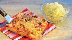 Geir Skeies langpannepizza med pizzasalat - Godt.no - Finn noe godt å spise